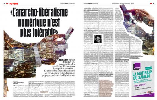 Entretien Libération :